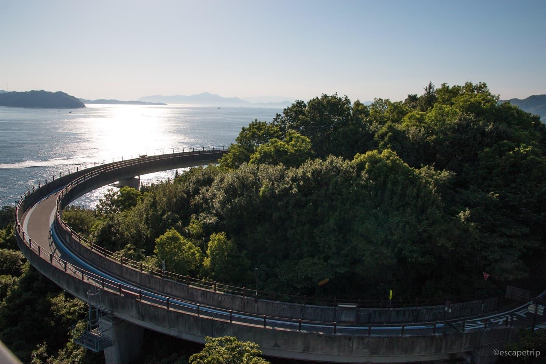 しまなみ海道の自転車道