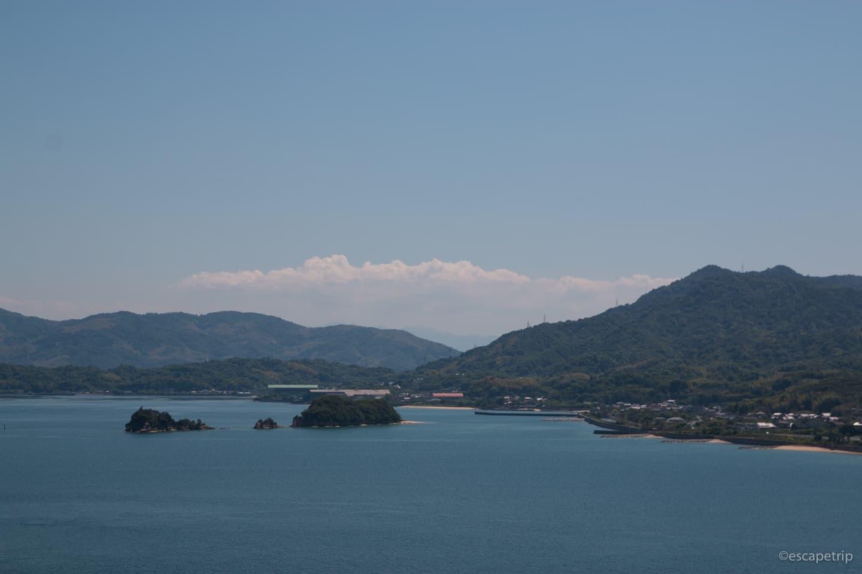 ポツポツと点在する島