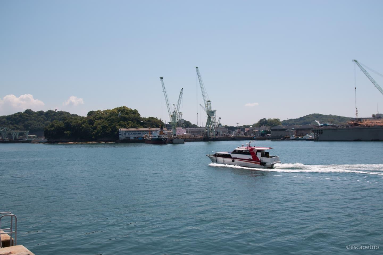 瀬戸内海の海と船