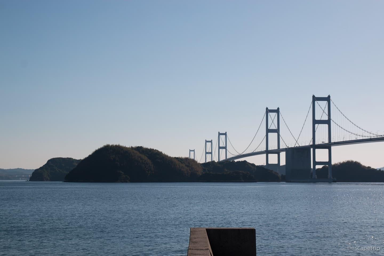 しまなみ海道に架かる橋