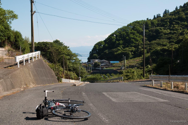 大三島の道