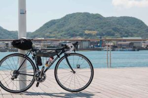 しまなみ海道サイクリング記事のアイキャッチ