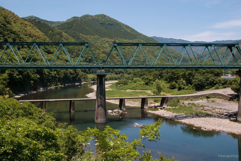三島沈下橋