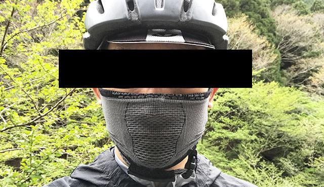 スポーツ用フェイスマスク記事のアイキャッチ