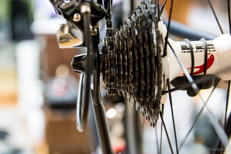 ロードバイクのカセットスプロケット