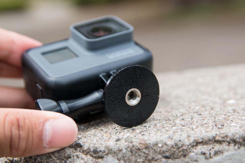 GoProを三脚に対応させる