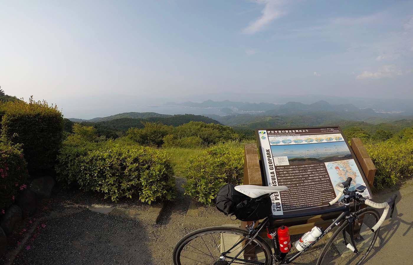 だるま山高原レストハウスとロードバイク