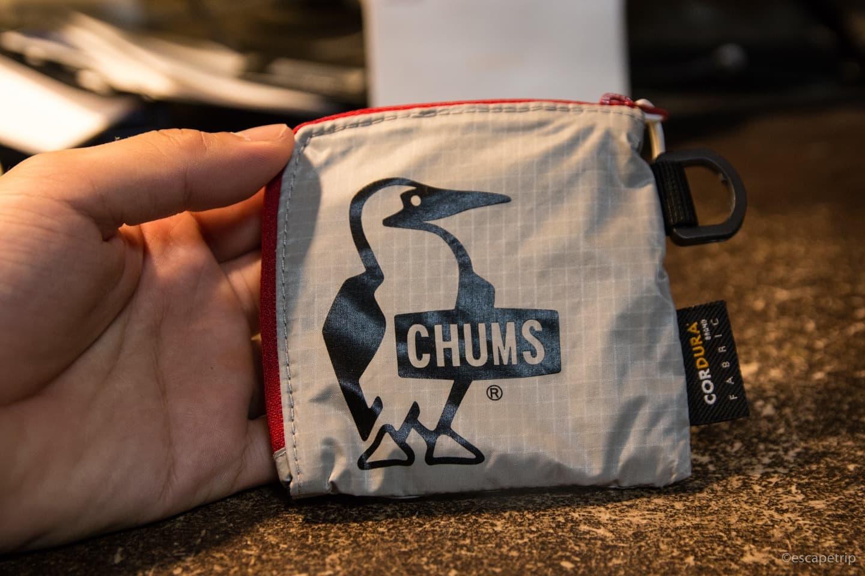 チャムスの財布Trek Wallet(トレックウォレット)