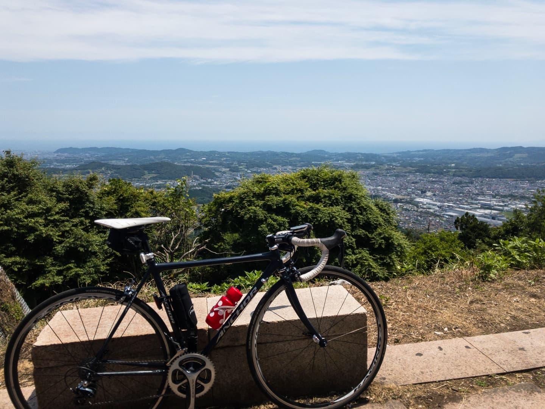 ヤビツ峠から見る景色