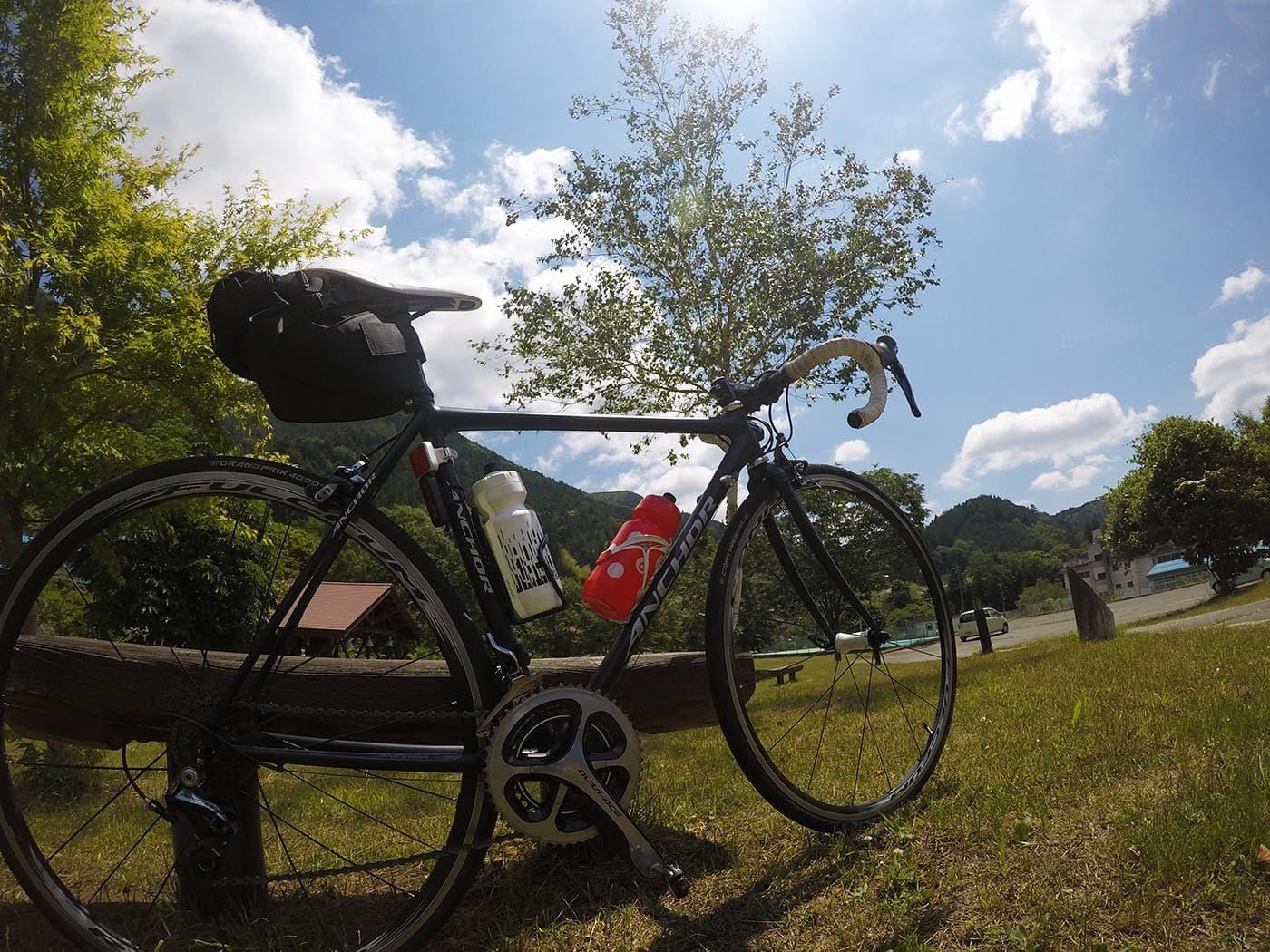 ロードバイク日向ぼっこ