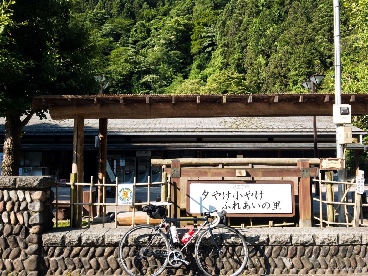 和田峠へ向かう道