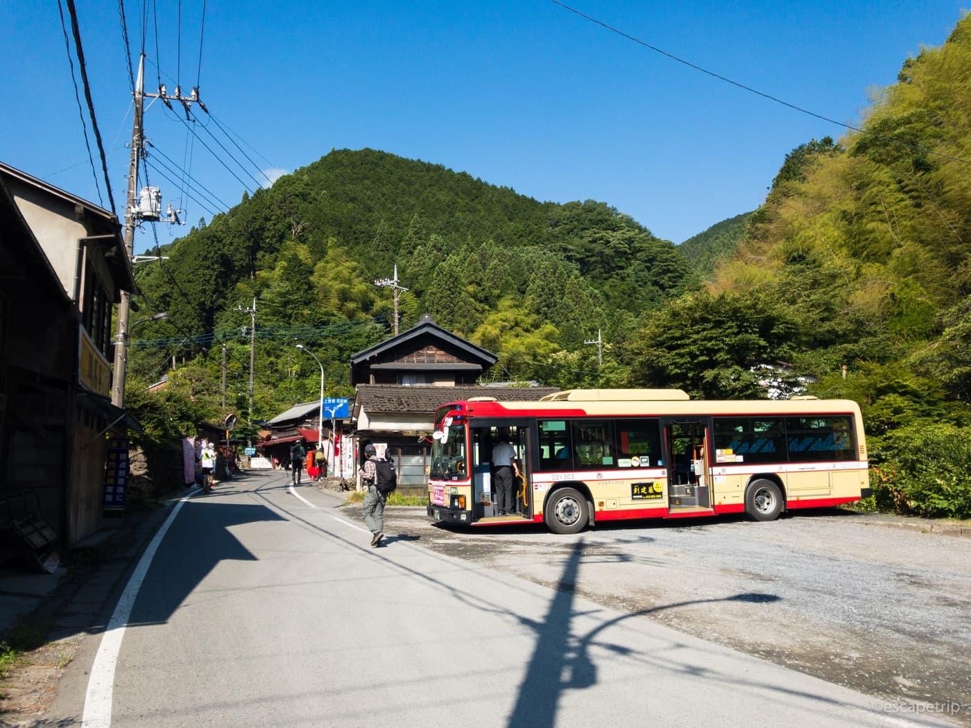 和田峠への入口