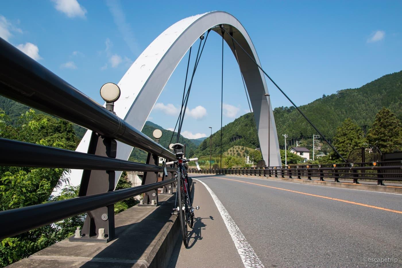 檜原方面の橋