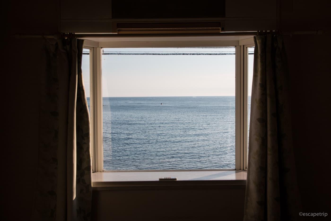 海の見えるペンション