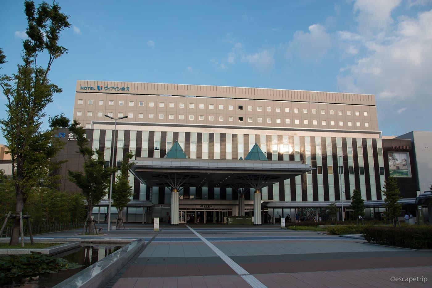 金沢駅の外観