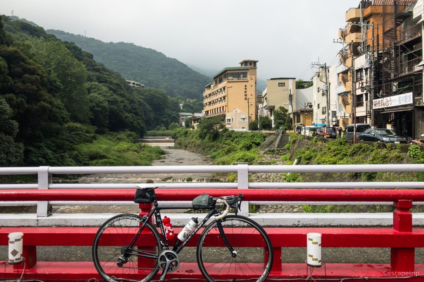 箱根とロードバイク