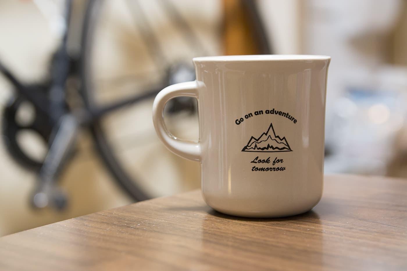 自転車マグカップ
