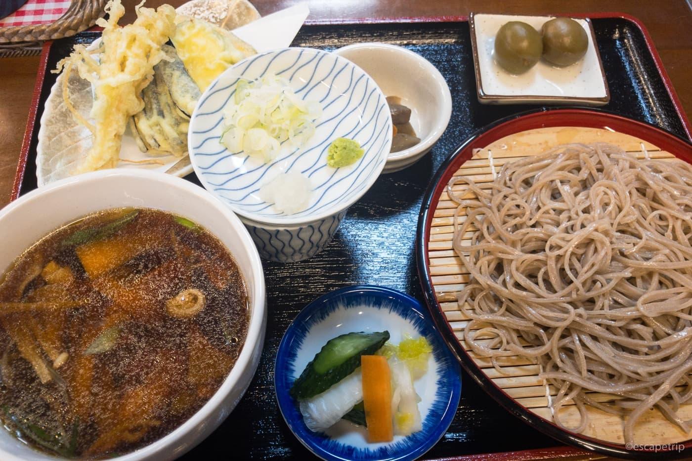 長野のお蕎麦
