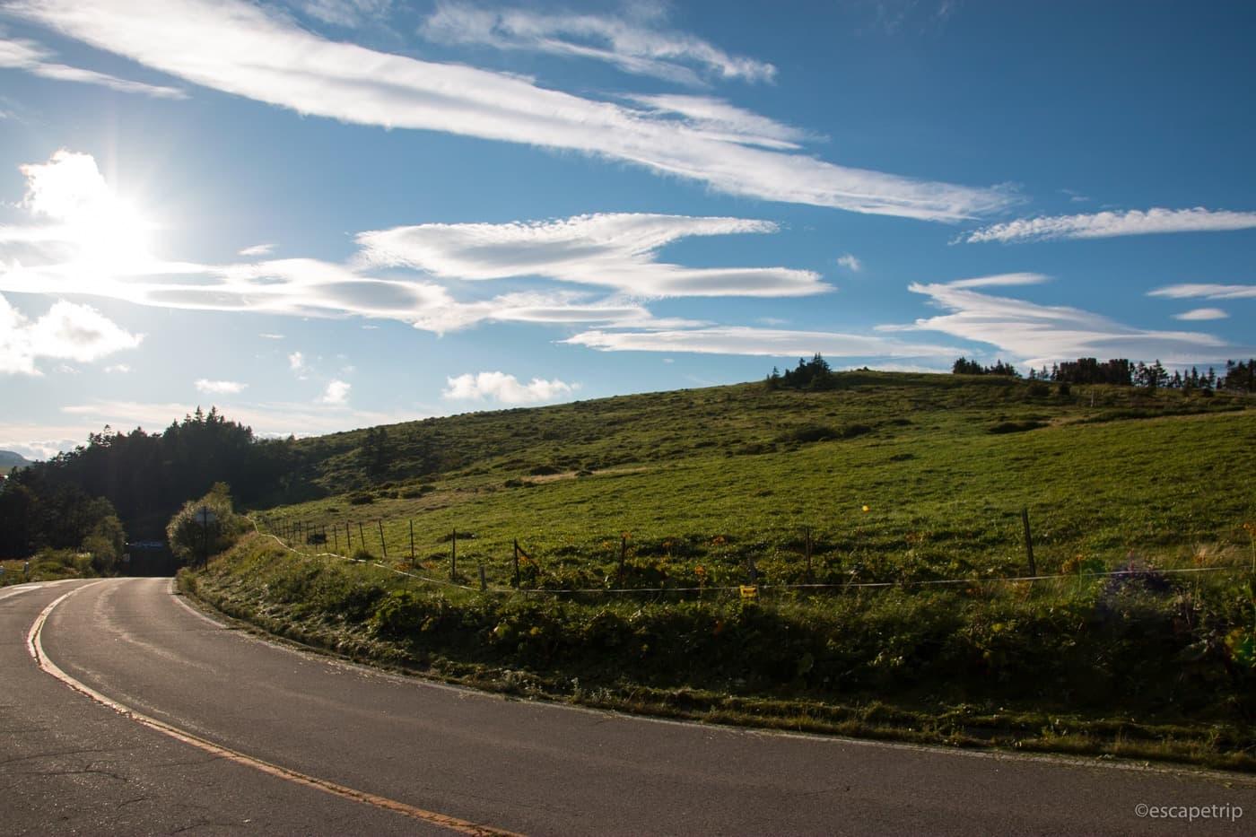 美ヶ原の道