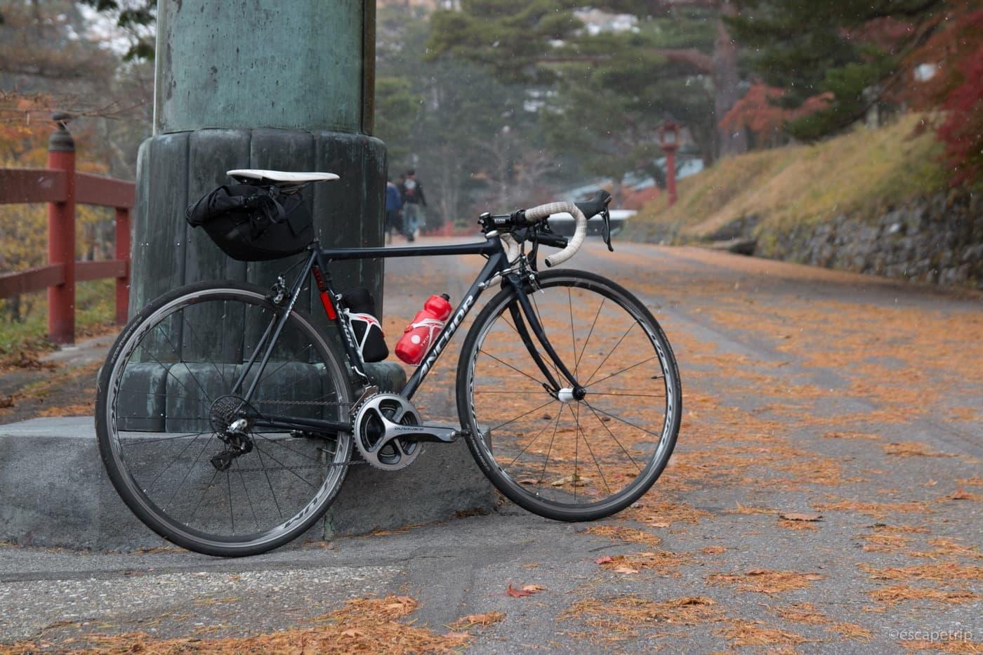 秋とロードバイク