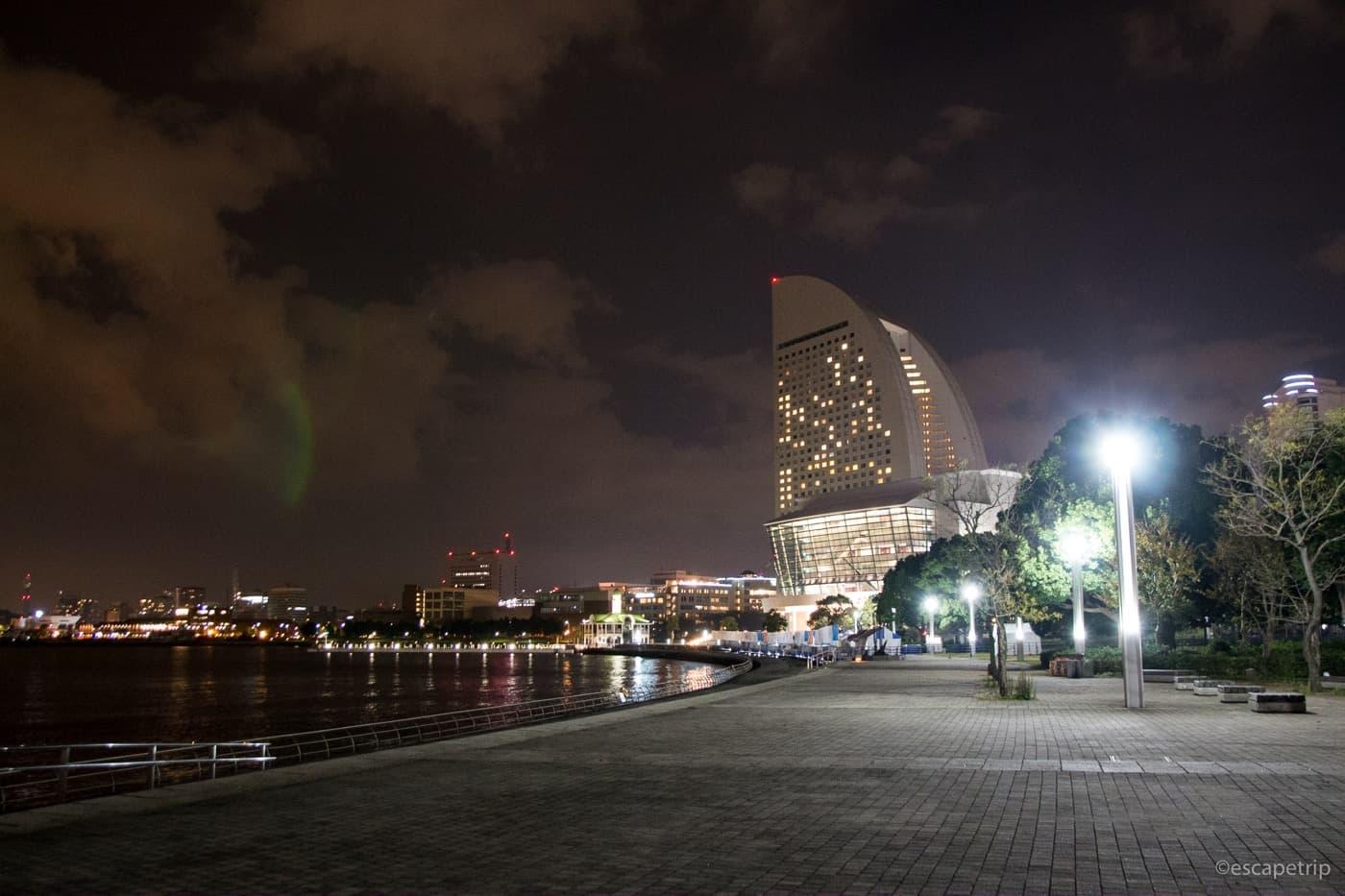 夜の臨港パーク