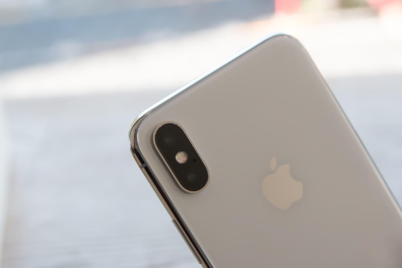 iPhoneXシルバー