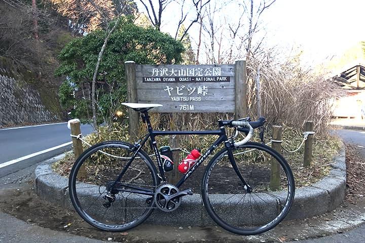 ヤビツ峠とロードバイク