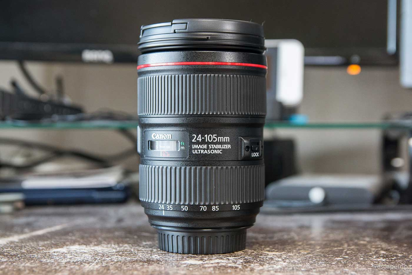 EF24-105mm F4L IS II USMの外観