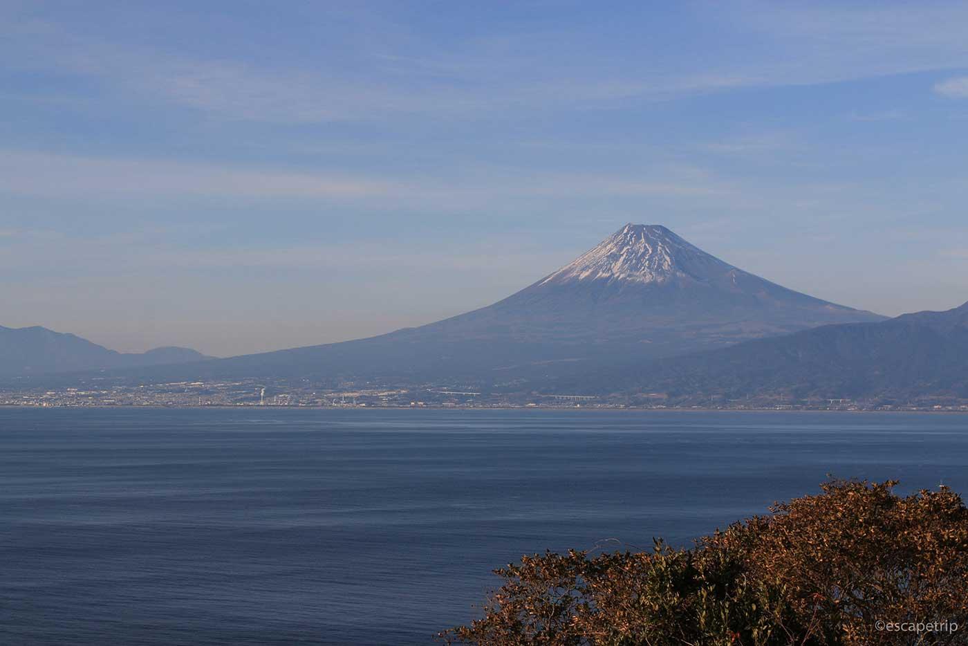 沼津から見る富士山