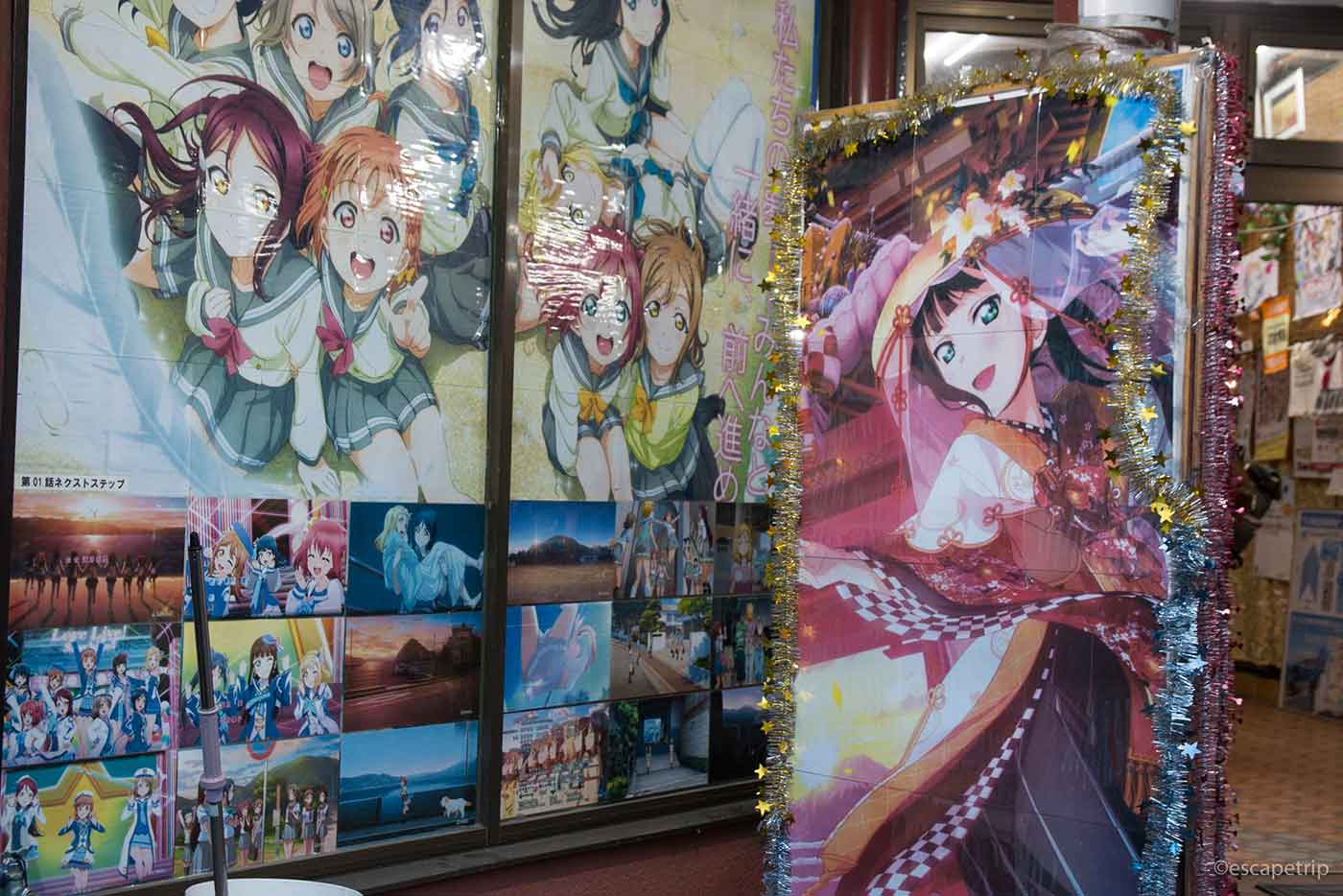 沼津の観光案内所とラブライブサンシャイン