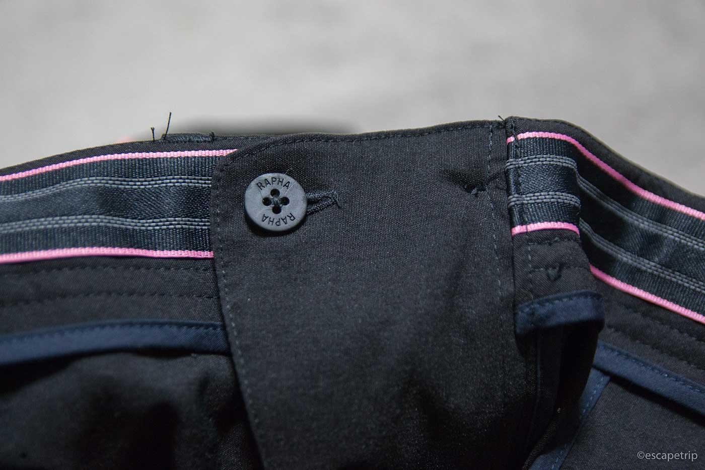 ラファの短パン「Randonnee Shorts」のウエスト
