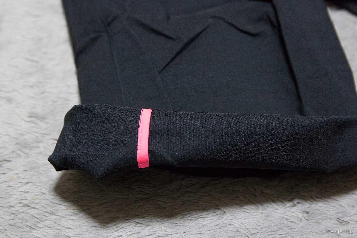 ラファの短パン「Randonnee Shorts」の裾