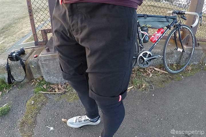 ラファの短パン「Randonnee Shorts」レビュー記事のアイキャッチ