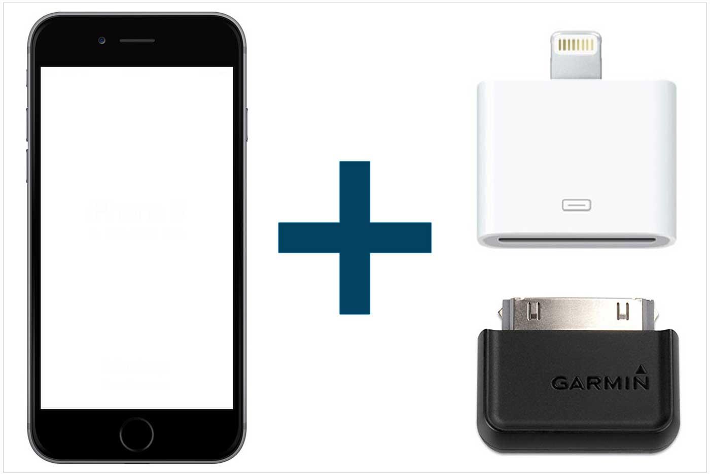 iPhone/iPadをANT+接続する場合
