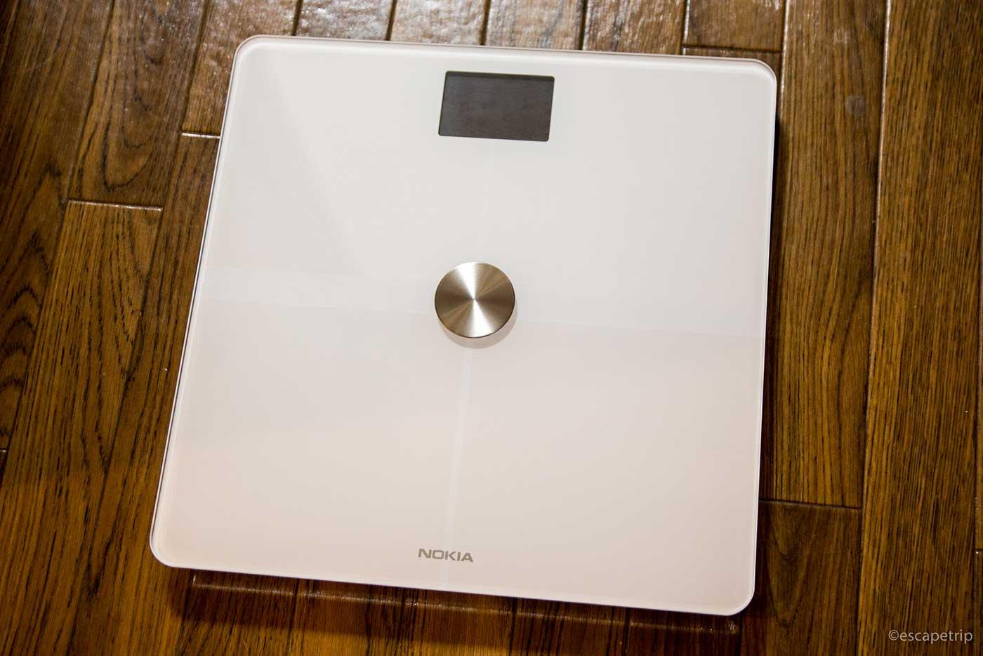 スマホと連携する体重計
