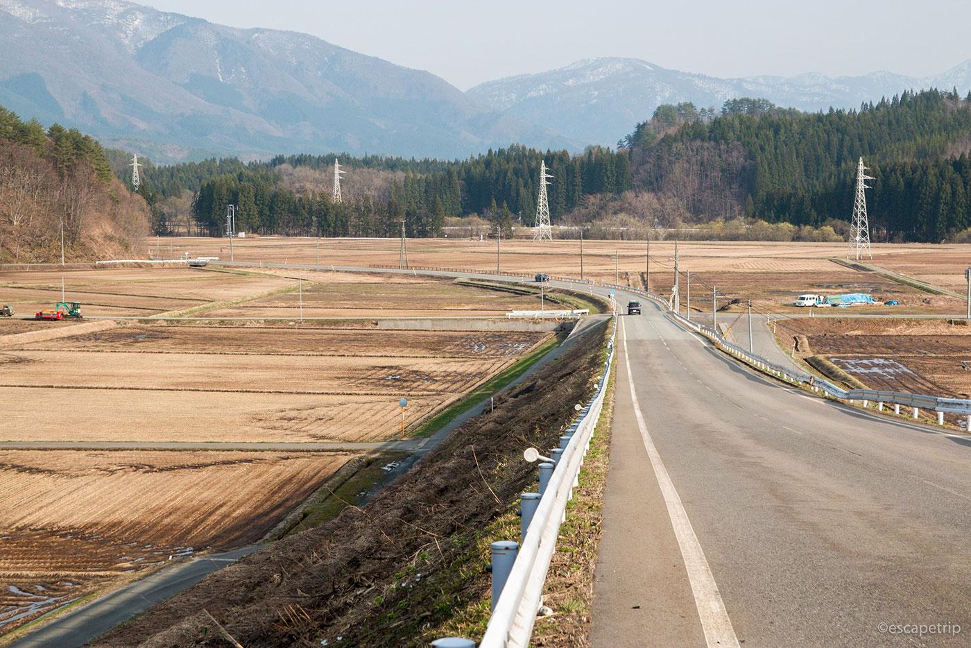 秋田の田園風景