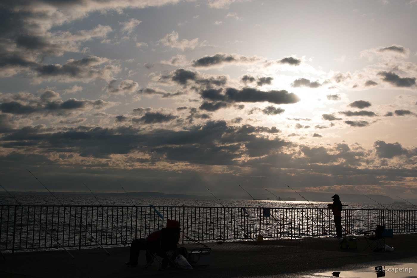 横須賀の日の出