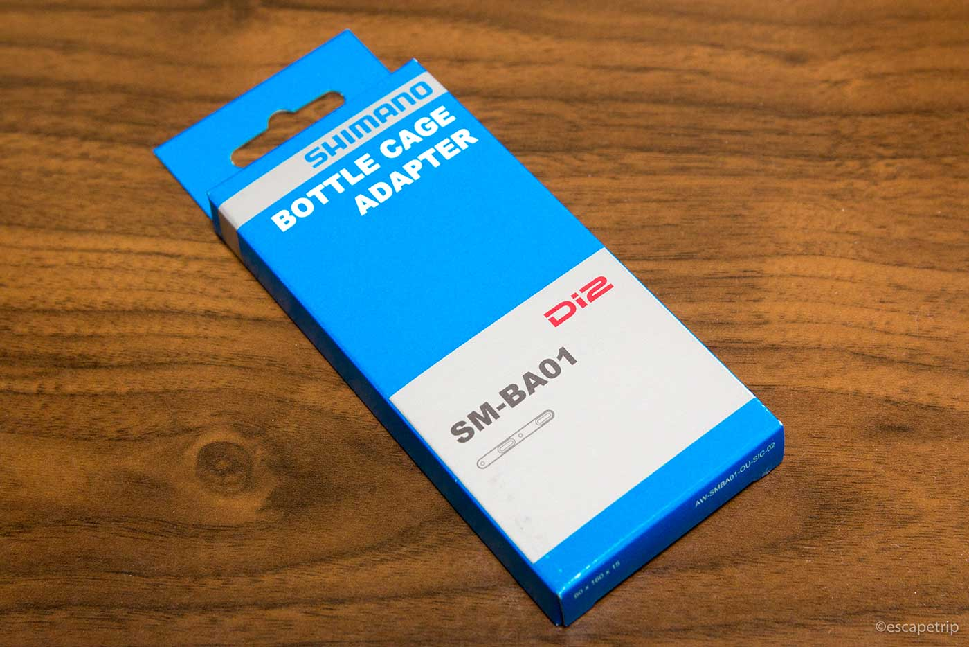 シマノ「SM-BA01」の箱