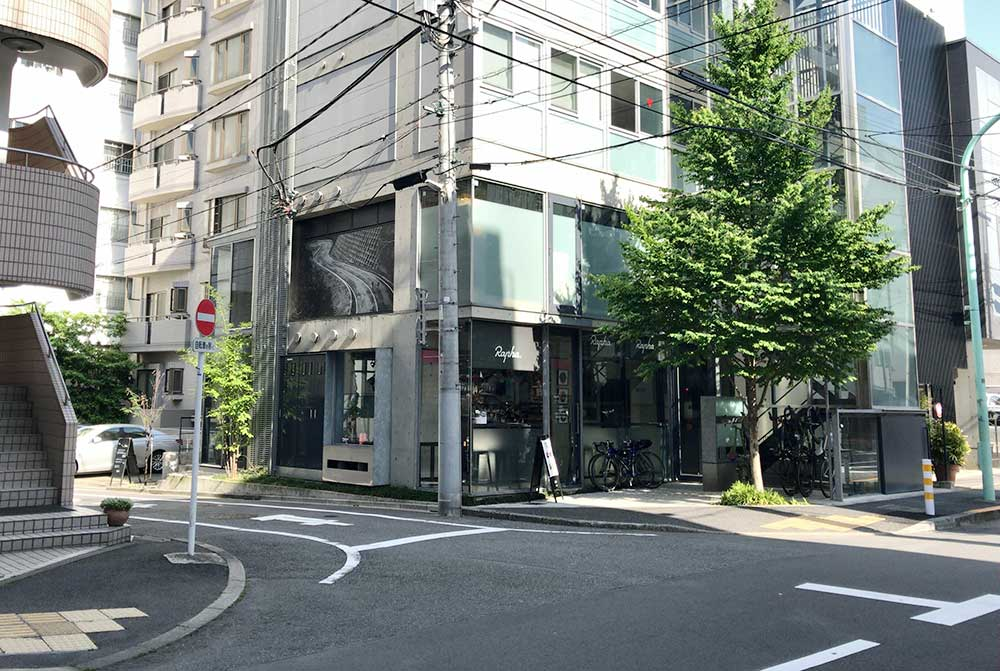ラファ東京の店舗外観