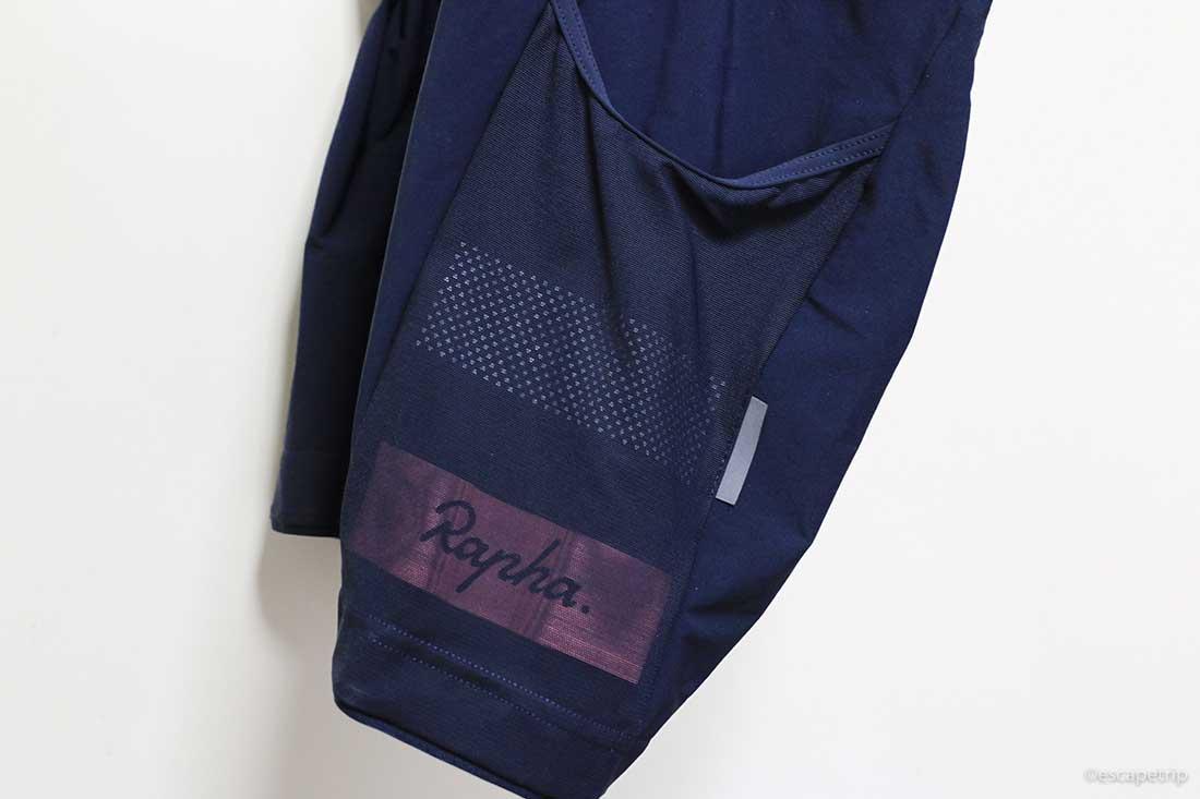 ラファのカーゴビブショーツのポケット