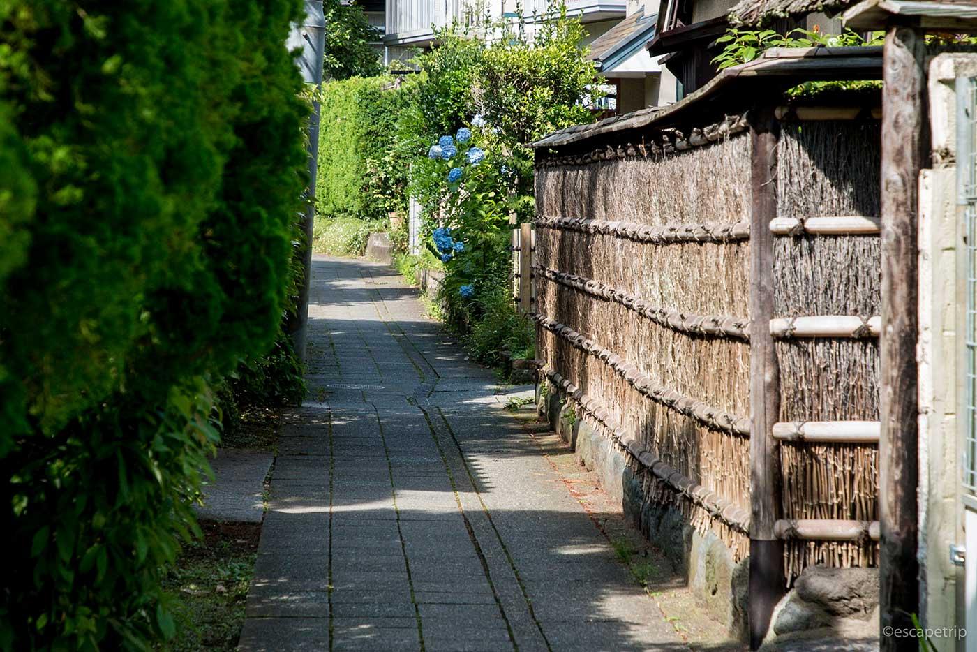 鎌倉の路地