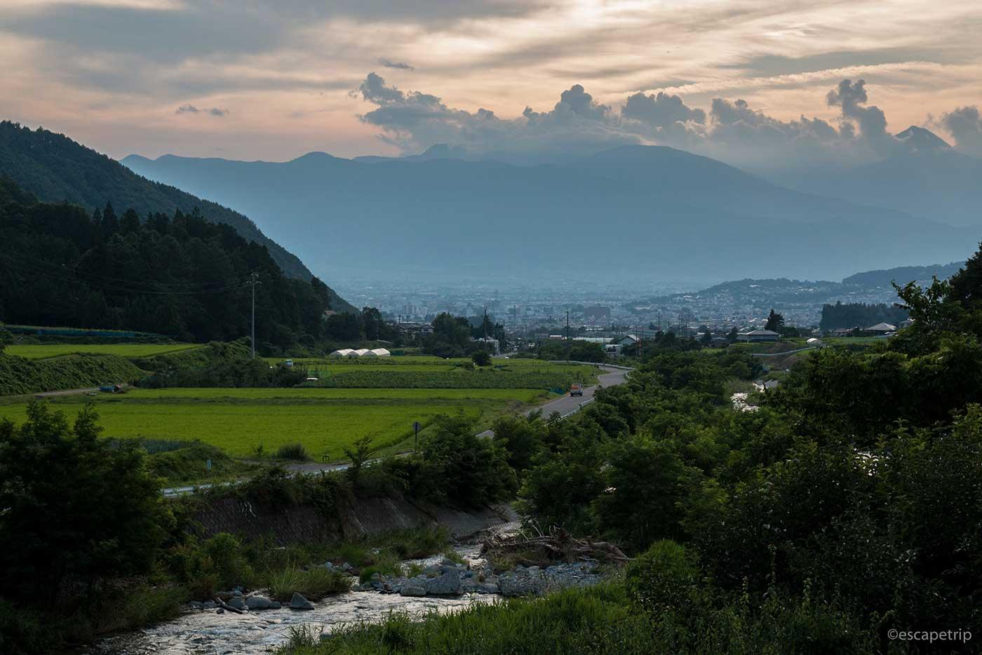 平成最後の夏の夕暮れ