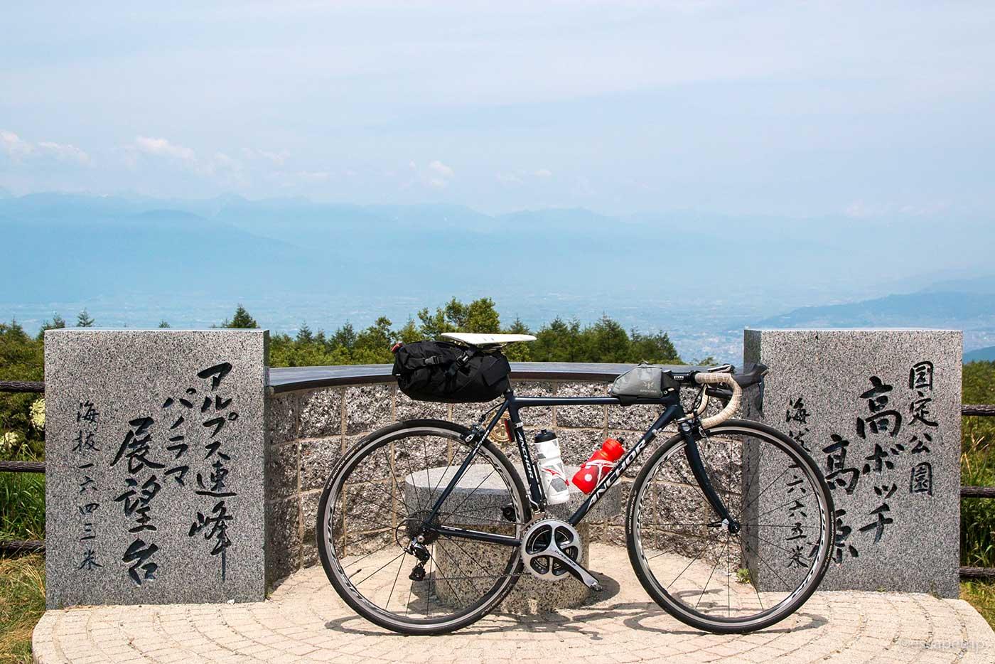 高ボッチ高原とロードバイク