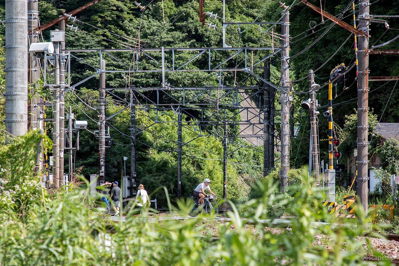 鎌倉の線路