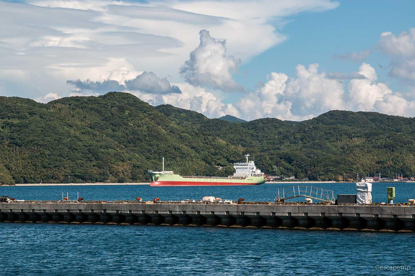 長門市から見る日本海
