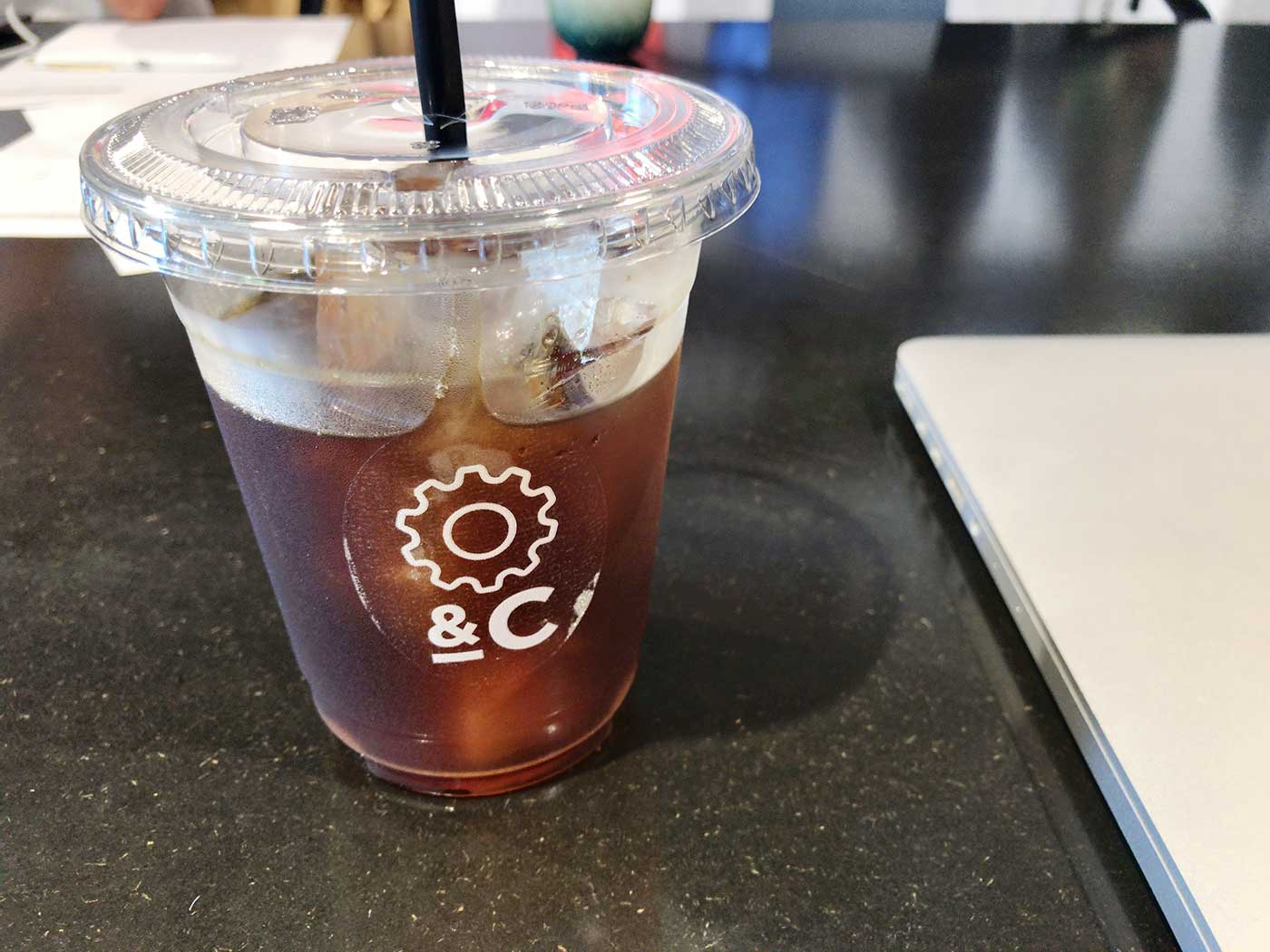 ratio&cのコーヒー