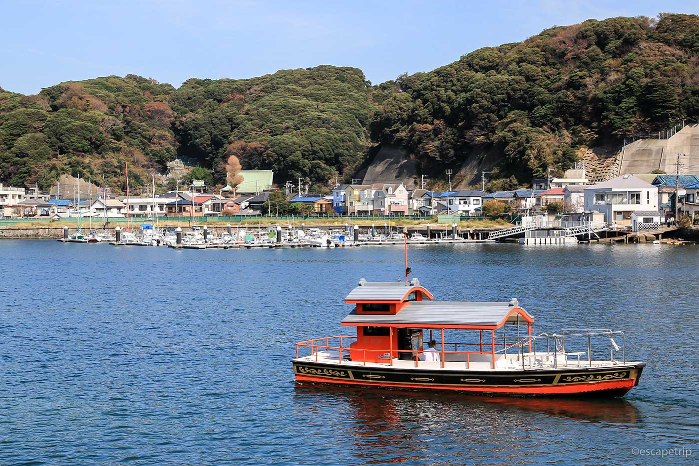 浦賀の渡しの船