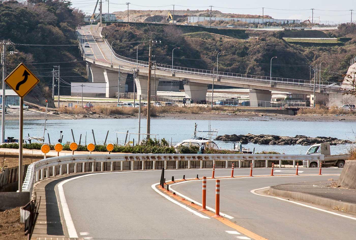 三浦半島のアップダウン