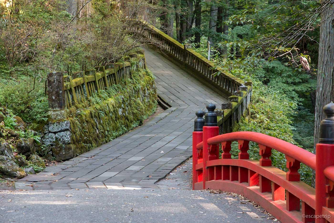 榛名神社の登り道