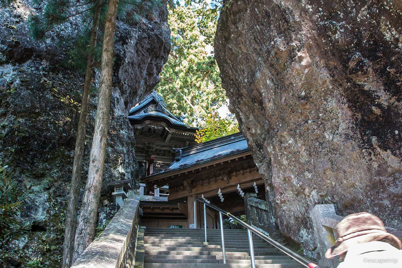 榛名神社の奇岩、巨岩